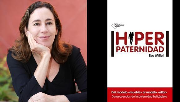 """Eva Millet, periodista e investigadora española, autora del libro """"Hiperpaternidad"""". Foto: Oriol Campuzano"""