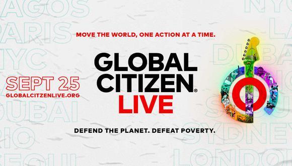 Conoce todos los detalles del Global Citizen Live. (Foto: Difusión)