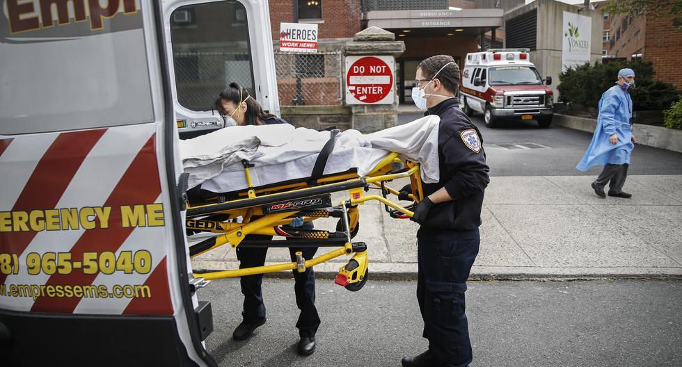 Nueva York es el epicentro del coronavirus en Estados Unidos. (AP Photo/John Minchillo).