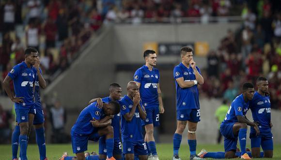 LDU de Quito vs. Emelec: los quiteños vencieron por 2-0 a los 'eléctricos' en el estadio Rodrigo Paz Delgado. | Foto: AFP