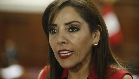 Alejandra Aramayo culpó al oficialismo de politizar el sistema de justicia. (Foto: USI)