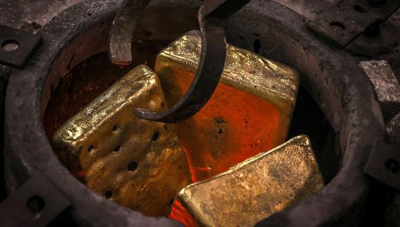 Los futuros del oro en Estados Unidos sumaban un 0,3%, a US$1.815 la onza. (Foto: AFP)