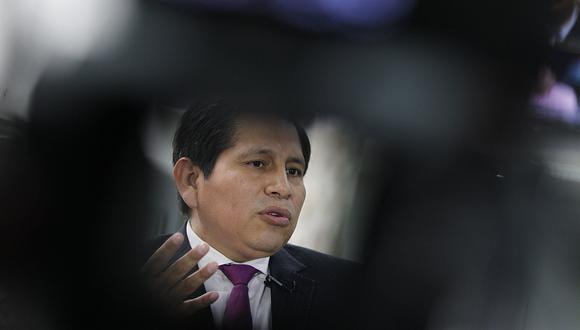 El fiscal superior Abel Concha fue amonestado cuando era juez del Caso Ecoteva. (Foto: Archivo El Comercio)