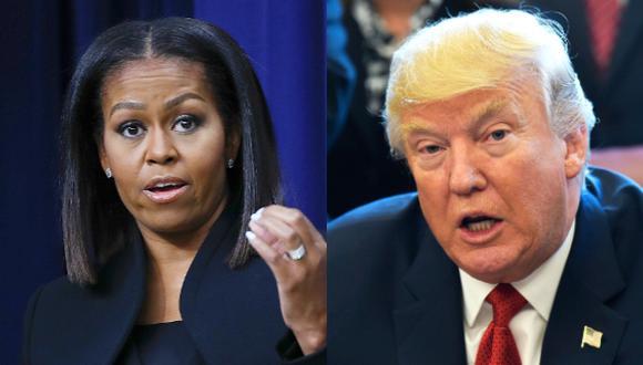 Trump deshace los programas para niños de Michelle Obama