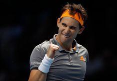 Thiem eliminó a Djokovic en la la fecha 2 del ATP World Tour Finals 2019