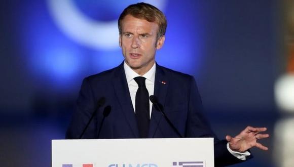 El presidente de Francia, Emmanuel Macron, solicitó la presencia de sus embajadores en EE.UU. y Australia. (REUTERS).