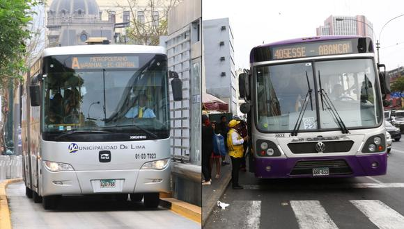Metropolitano y Corredores Complementarios cambiarán sus rutas pro procesión del Señor de los Milagros. (Foto: GEC)