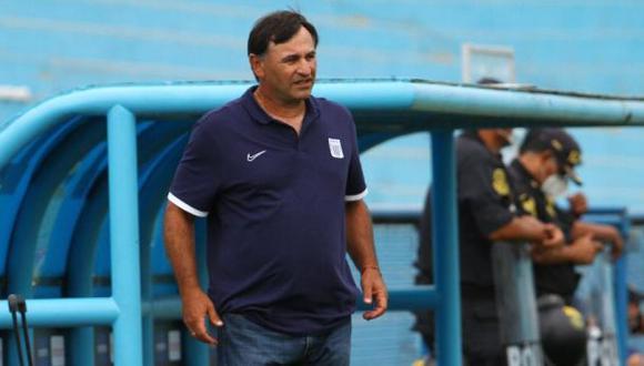 Carlos Bustos es entrenador de Alianza Lima desde inicios de este 2021. (Foto. Alianza Lima)