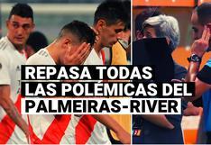Palmeiras vs. River Plate: todas las polémicas de la eliminación del 'Millonario' de la Copa Libertadores