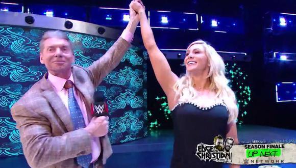 WWE RAW: Vince McMahon anunció a Charlotte Flair como la rival de Ronda Rousey para WrestleMania 35. (Foto: WWE)
