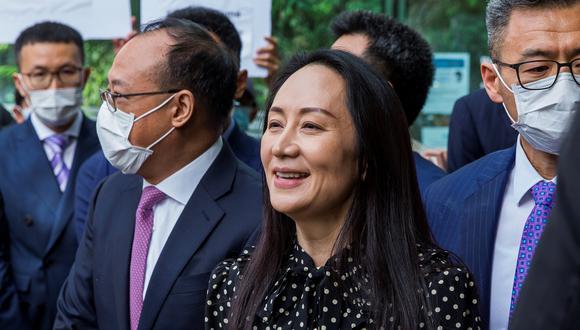 Meng Wanzhou, directora financiera de Huawei. EFE