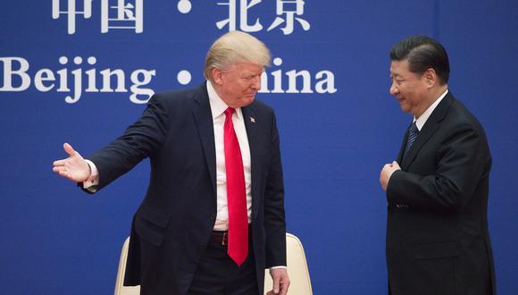Trump recomienda a Xi que se reúna personalmente con manifestantes Hong Kong. Foto: Archivo de AFP