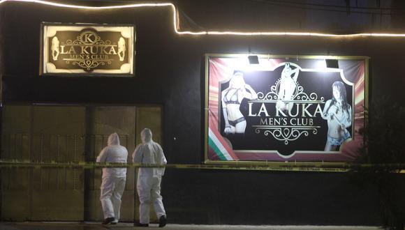 México | Cancún: grupo armado entra a bar La Kuka y deja 5 muertos y 5 heridos. (EFE).