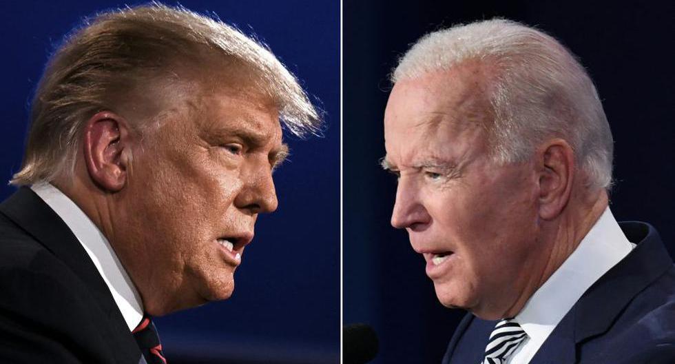 Donald Trump y Joe Biden tienen posturas opuestas sobre el cambio climático. (Foto: AFP)