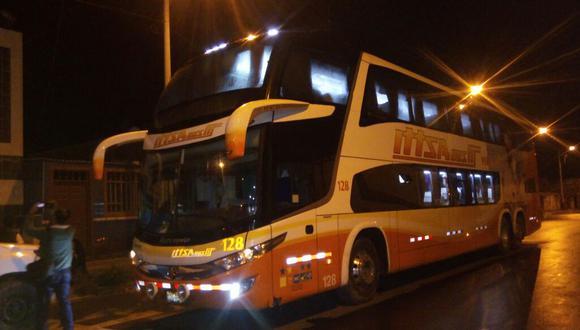 Libertad: delincuentes asaltan bus con más de 50 pasajeros