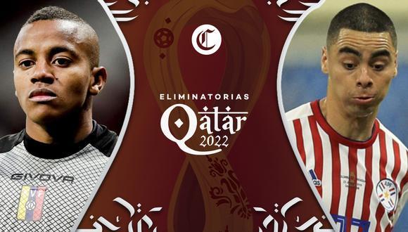 Venezuela vs. Paraguay se enfrentan en la segunda jornada de las Eliminatorias Qatar 2022.