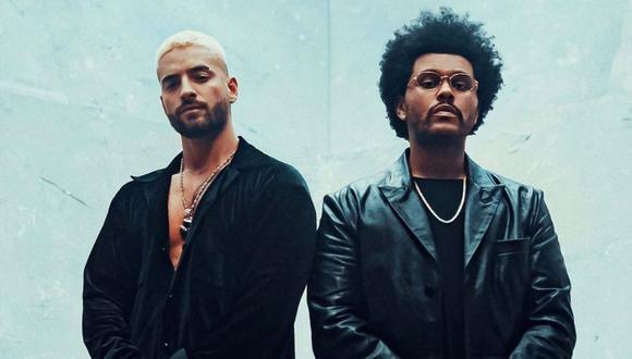 Maluma y The Weeknd han sorprendido con el remix de Háwai, la exitosa canciónn del colombiano. (Foto: Instagram / @maluma).