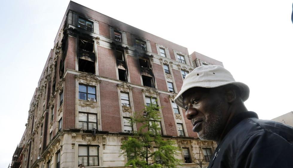 Mueren cuatro niños y dos adultos en un incendio en Nueva York. (Foto: AP)