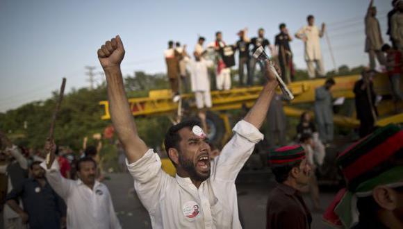 Tensión en Pakistán por marcha para derrocar al Gobierno