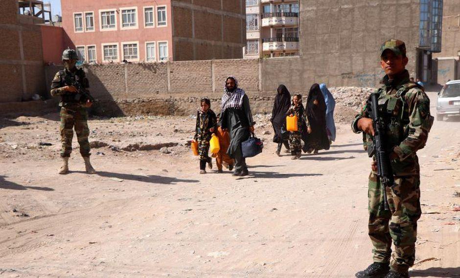 Las autoridades de Afganistán acusaron a los talibanes de colocar el artefacto explosivo, aunque la formación insurgente no se ha pronunciado al respecto. (Foto: EFE)