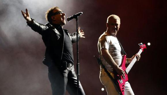 Bono y U2 en un concierto pasado en México. (Foto referencial: AP)
