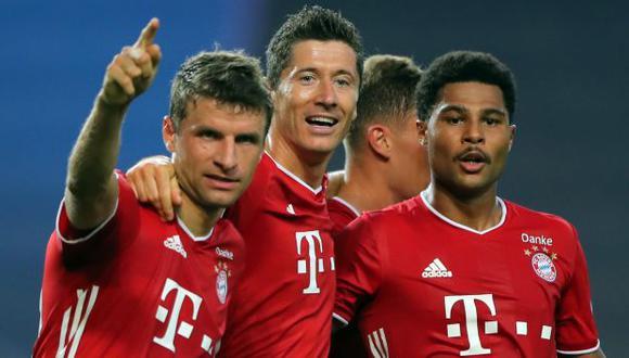Bayern Múnich tiene cinco trofeos de campeón de Champions League en su vitrina. (Foto: AFP)