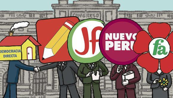 Elecciones 2021: las movidas en los partidos de izquierda y las fracturas  que incluyen | NCZG | POLITICA | EL COMERCIO PERÚ