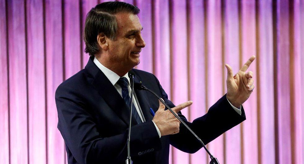 Jair Bolsonaro dice que armar a la población evita golpes de Estado. (EFE).