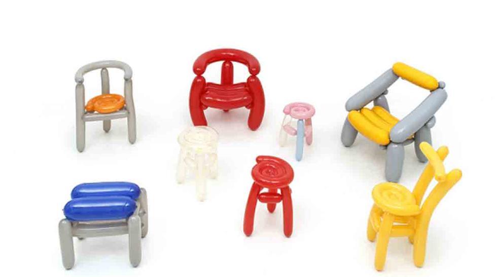 Siéntate en un globo con la colección de sillas Blowing Series - 2