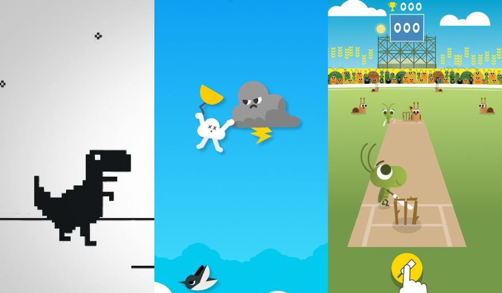 Conoce todos los juegos que puedes jugar gratis y offline en Google de manera simple. (Foto: Google)