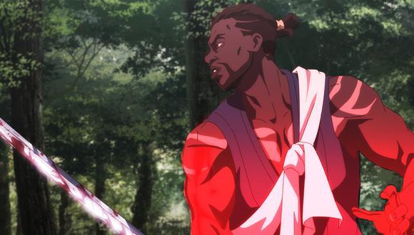 """""""Yasuke"""", el anime sobre un samurái africano en Japón, es producido por Netflix y el estudio de animación japonés MAPPA. (Netflix)"""