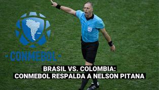 Copa América: Conmebol respalda a Pitana tras el Brasil-Colombia