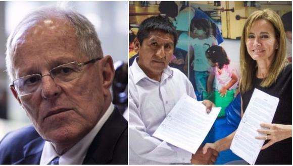 El Ministerio de Educación y los representantes de los sindicatos regionales de docentes de Cusco, Pasco, Lambayeque y Lima Provincias firmaron ayer un acta que contiene siete acuerdos. (Foto: El Comercio/Minedu)