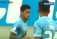 Sporting Cristal vs. Cantolao: Christopher Olivares adelantó a los celestes | VIDEO