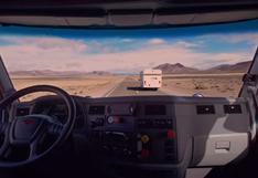 Mira cuántos kilómetros recorrió este camión sin chofer