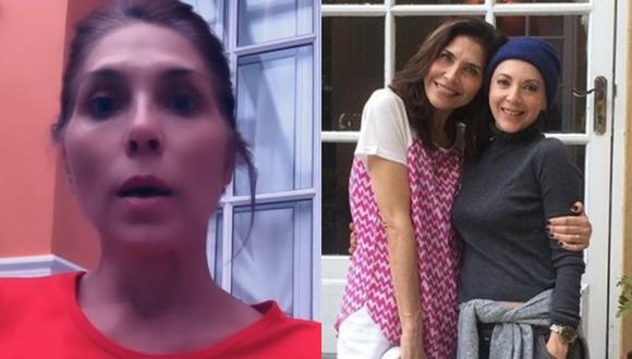 Edith González: Lorena Meritano, afectada por la muerte de la actriz