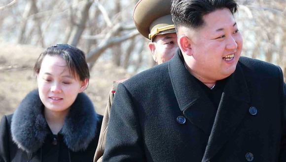 Kim Yo-jong, la hermana de Kim Jong-un, se reunirá con el presidente de Corea del Sur. (EFE).
