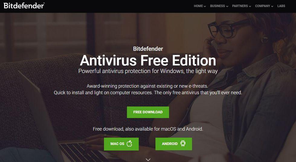 Descargar antivirus gratuito - Bitdefender