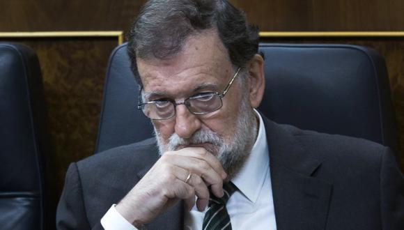 El presidente de España Mariano Rajoy decidirá el jueves si interviene Cataluña. (AP).