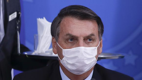Jair Bolsonaro se somete a test por sospecha de coronavirus y ya toma hidroxicloroquina (Foto: Sergio LIMA / AFP).
