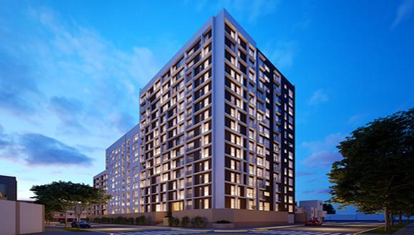 El condominio Live Lima Flats, de Enacorp, contará con 15 niveles y diversas áreas comunes para sus residentes.