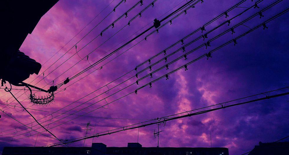 El tifón Hagibis ya ha empezado a arrasar en Japón y el cielo anunció la catástrofe que estaba por llegar. (Foto: @ika_mesugorira)