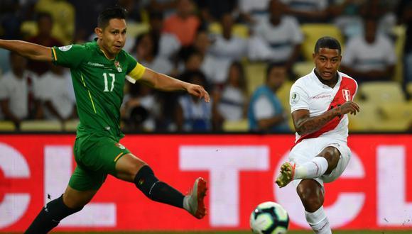 Perú vs. Bolivia: Polo comandó el primer ataque de la Blanquirroja en el Maracaná por Copa América | VIDEO. (Foto: AFP)
