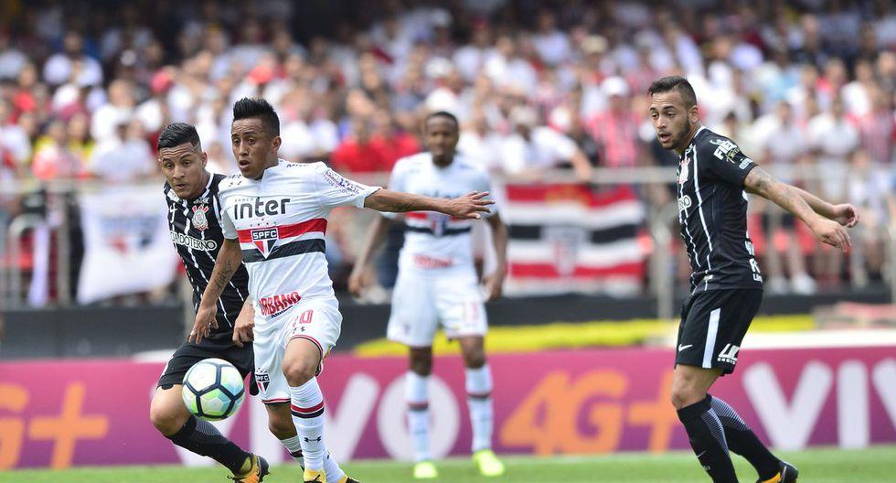 El Estadio Morumbí presenciará una nueva edición de este partidazo entre Sao Paulo y Corinthians. El volante nacional Christian Cueva será titular. (Foto: Globoesporte)