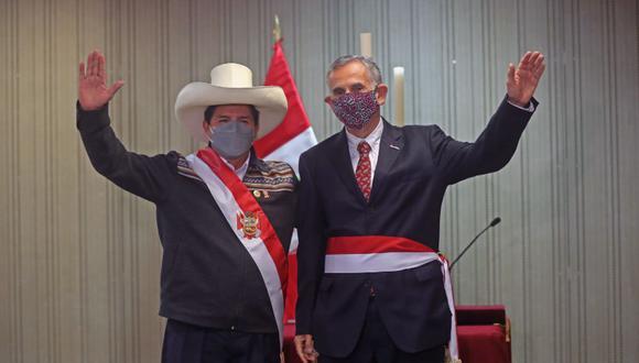 Pedro Francke juró el viernes como nuevo ministro de Economía y Finanzas para el mandato del presidente Pedro Castillo | Foto: Presidencia Perú