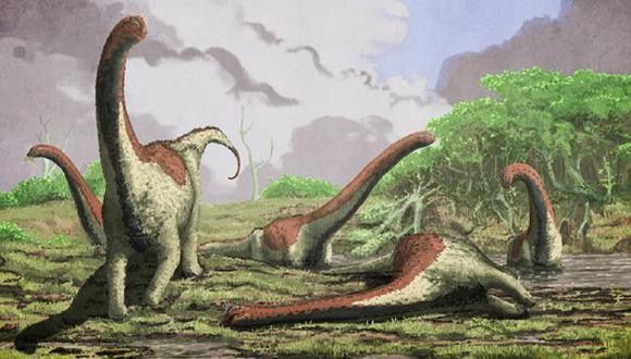 Nueva especie de dinosaurio gigante fue descubierta en Tanzania