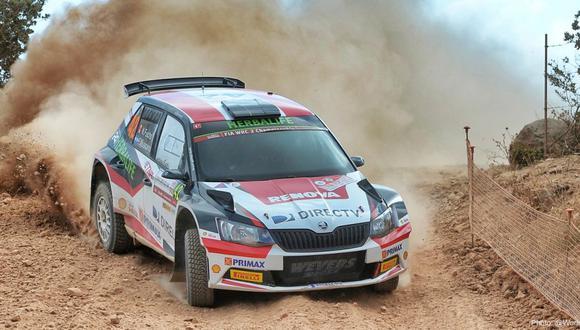 WRC: Nicolás Fuchs inició segundo el Rally de Italia
