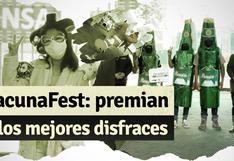 Ministro de Salud premió los mejores disfraces del VacunaFest