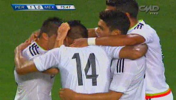Perú vs. México: empate azteca tras error de Gallese y defensa