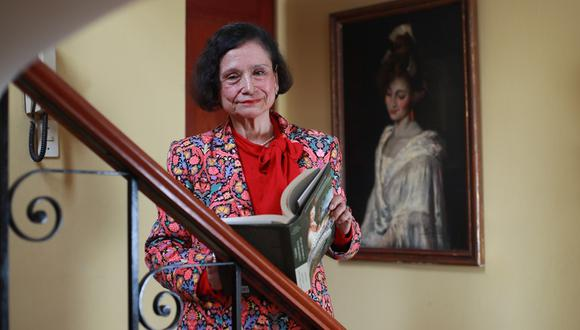 Historiadora Scarlett O'Phelan. (Foto: Juan Ponce)